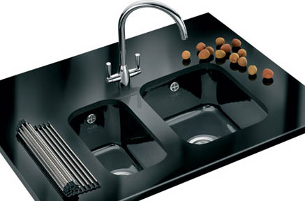 NEW Black & White Ceramic Undermount Sinks Available at Granite Care ...