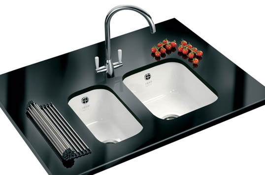 Franke Undermount Sink Black : NEW Black & White Ceramic Undermount Sinks Available at Granite Care ...