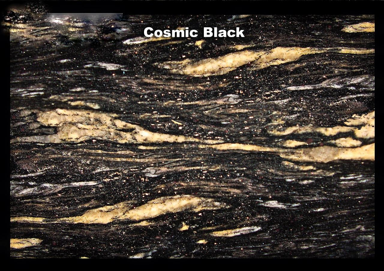 Granite Worktops - Cosmic Black