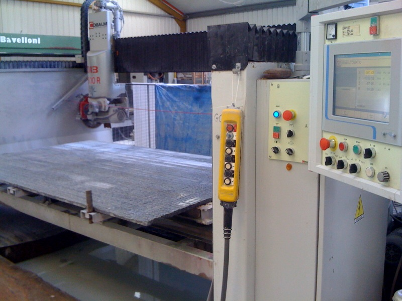 granite worktops sawing machine