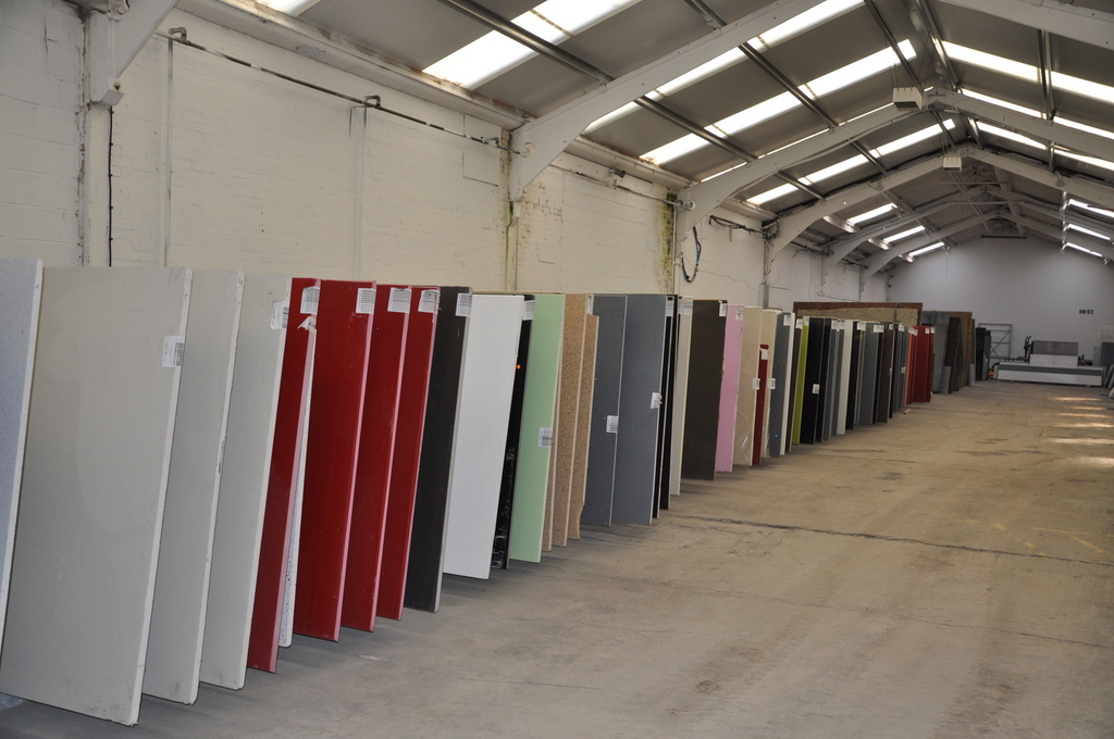 Vast Stocks of Granite and Quartz for Worktops