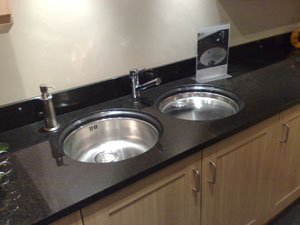 Astracast opal Round Undermounted Kitchen Sink