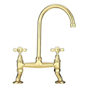 Franke Bridge Tap - Gold
