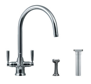 Franke Trispray Doric Tap - Chrome