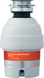 Franke Turbo WD-751 Waste Disposal Unit
