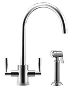 Franke Olympus Side-Spray Tap - Chrome