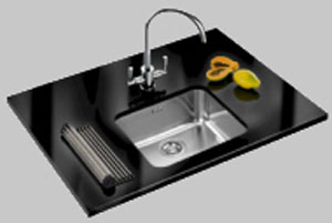 Franke Largo LAX 110 45 Undermount Sink