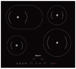 Neff T45D40 Induction Hob