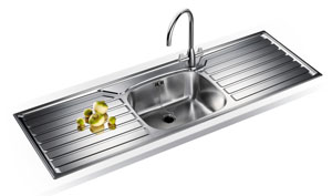 Franke UK Range UKX 612 Inset sink
