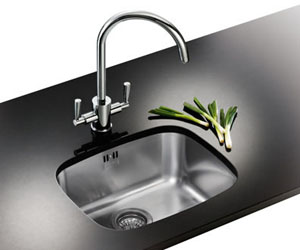 Franke UKX 110-45 Single Bowl Undermount Sink - Stainless Steel