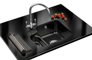 Franke by V & B VBK 160 Undermount Sink - Black