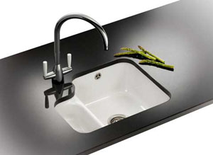 Franke by V & B VBK 160 Undermount Sink - White
