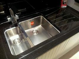 absolute black granite panel sink drainer