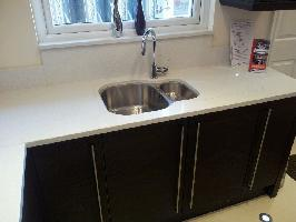 compac snow quartz worktops