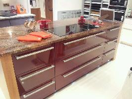 Juperana Bordeaux granite worktop island