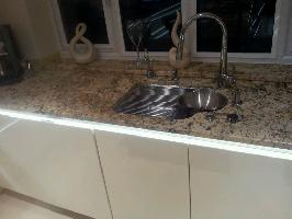 solaris granite worktop with franke undermount sink